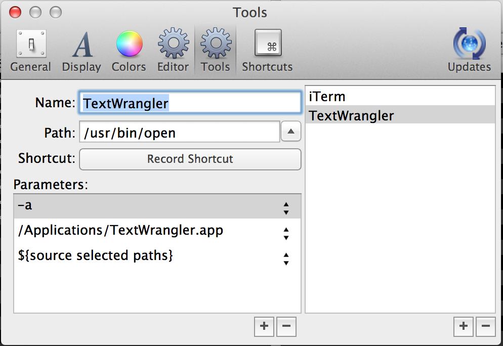 CRAX MAC-OSX Dual-Pane File Manager